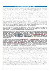 JUBILACIÓN AMA DE CASA